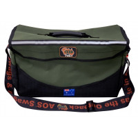 AOS Deluxe Series Tool Bag Large Canvas Grn/Blk