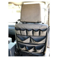 AOS Canvas Seat Cover for Landcruiser 79 Series Workmate Font Seats - Grey