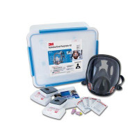3M Medical & Industry Large Full Face Respirator Kits Asbestos/Dust/ Medical - P3 (6835L)