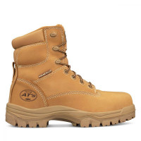 Oliver 150mm Wheat Lace Up Boot (45-632)