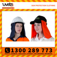 Uveto Attach-A-Flap 100% Cotton Lightweight Head Cover (AAFC)