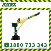 Jarrett Backsaver Crane 500kg with Manual Winch