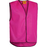 Bisley Hi Vis Vest Pink