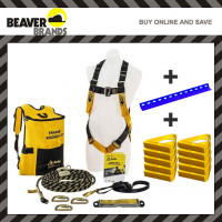 Beaver Roofers Kit with Roof Anchor and 10 x Roof Handles