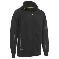 Bisley Workwear Zip-Front Work Fleece Hoodie (BK6925)