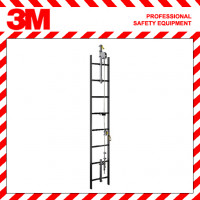 3M DBI-SALA Lad-Saf Flexible STAINLESS STEEL Cable Vertical Safety Systems