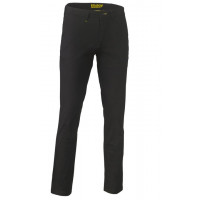 Bisley Stretch Cotton Drill Work Pants Black