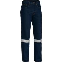 Bisley 3M Taped Rough Rider Denim Jeans Blue