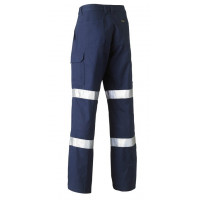 Bisley 3M Biomotion Double Taped Cool Lightweight Utility Pant Navy