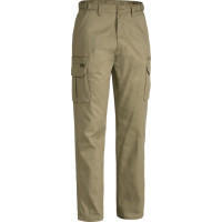 Bisley Workwear 8 Pocket Mens Cargo Pant KHAKI (BPC6007)