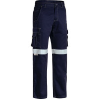 Bisley 3M Taped Cool Vented Lightweight Cargo Pant Navy
