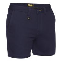 Bisley Mens Stretch Cotton Short Short Navy