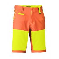 Bisley Double Hi Vis Short Orange/Yellow