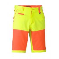 Bisley Double Hi Vis Short Yellow/Orange