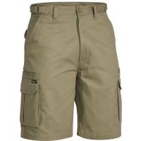 Bisley Original 8 Pocket Mens Cargo Short Khaki