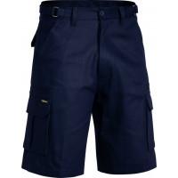 Bisley Original 8 Pocket Mens Cargo Short Navy