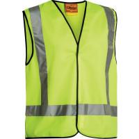 Bisley X Taped Hi Vis Vest Yellow