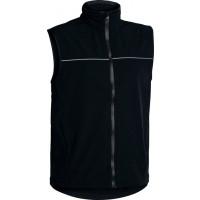 Bisley Mens Softshell Vest Black (BV0360-BBLK)