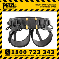Petzl Falcon Ascent Seat Harness Size 1, 2 (C038BA)