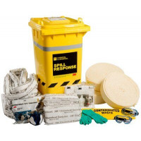 3M Chemical Sorbent Spill Kit Wheelie Bin - 180L (CSRK-180)