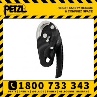 Petzl Rig BLACK Descender Belay 10.5-11mm (D021AA01)