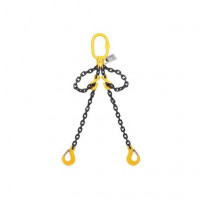13mm Double Leg Chain Sling (Clevis Sling Hook) 1m to 3m