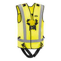 Petzl Newton Easyfit Hi-Viz Fall Arrest Harness (C73JFV)