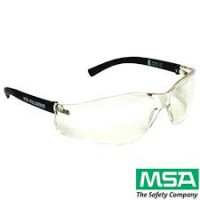 MSA Spectacle Nullarbor, Hard Coat Antifog Clear Lens Medical & Industrial