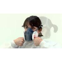 3M Small Half Facepiece Respirator 7501+2135 filter Kit