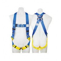 3M Protecta FIRST Fall Arrest Harness Blue and Yellow - Medium