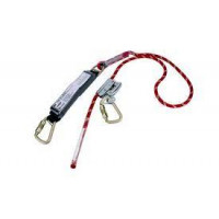 3M PROTECTA 2m Adj Rope Shock Absorbing Lanyard (AE529ADJ/9R)