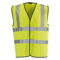 Medium Safety Vest Waist Coat Hi Viz with 3M Reflective Tape