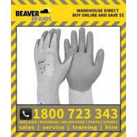 Beaver Ninja Dyneema (P515) Cut 5 Silver Plus Hand Protection (12pk)