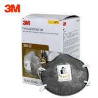 3M GP1Medical & Industry Particulate, Nuisance Vapours & Odours Respirator with valve (9913V)-Pk 10