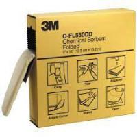 3M (Box of 3) Chemical Sorbent Folded (C-FL550DD)