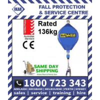 24m IKAR Fall arrester inertia Rated 136kg/300lbs