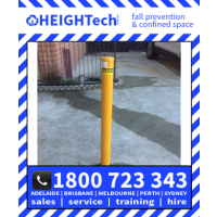 Davit sleeve pole bollards 1100mm