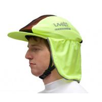 Uveto HI VIS YELLOW EXPLORA Cap Helmet Cover Sun Protection