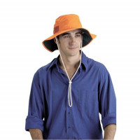 Elliotts High Vis Orange Broad Brim Hat