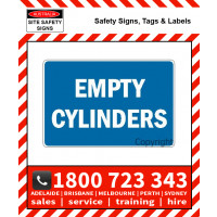 EMPTY CYLINDERS 300x450mm Metal