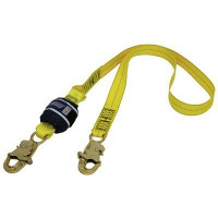 3M DBI SALAForce2 Shock Absorbing Lanyards Webbing Single Tail 1.7m overall length