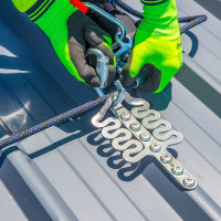 FrogLink Safety Stainless Steel Roof Anchor 15kN NO RIVETS (FROGL001)