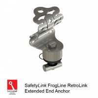 FrogLine RetroLink End Anchor (with Extension for high profile & corners) (STAT.FROGRET002_EXT)