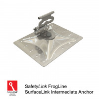 FrogLine SurfaceLink Intermediate Anchor - Aluminium Plate (STAT.FROGSAL001)