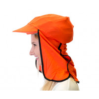 Uveto ORANGE 100% Cotton Gobi Over Hat Helmet Add-on