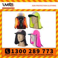 Uveto Micro Mesh Gobi Over Hat Helmet Add-on Sun Protection