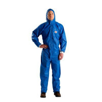 L Protective Coverall Blue + White 3M (4532+)