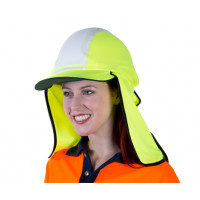 Uveto YELLOW Micro Mesh Gobi Over Hat Helmet Add-on