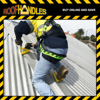 Climb Safely with Roof Handles