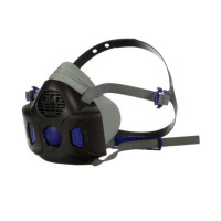 MEDIUM 3M Secure Click Half face Reusable Respirator (HF-802SD)